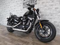 Harley Davidson XL1200 X Forty Eight *2017 with Vance and Hines*