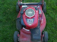 "craftsman 21"" self propelled lawn mower"