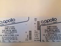 Chase and status tickets Manchester x2