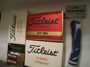 Golf Balls, Tees, Markers, Books, Score Cards, $ Clip, Cap, Tags