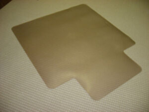 Carpet protector mat for office chairs