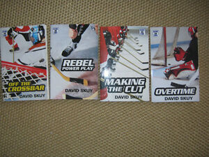 4  Hockey novels (series) by David Skuy