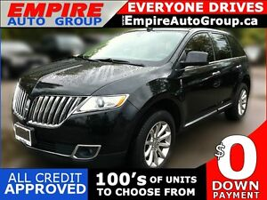 2011 LINCOLN MKX LUXURY | LEATHER | PANORAMIC SUNROOF | REAR VIE