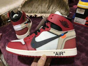 AIR JORDAN 1 x OFF-WHITE Chicago !