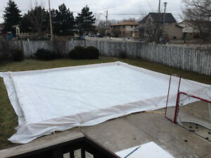 Rink Liner – 40' x 40' – 6 mil, 4 ply Kitchener / Waterloo Kitchener Area image 3