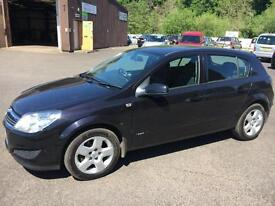 5808 Vauxhall Astra 1.4i 16v Breeze Black 5 Door 63457mls MOT May 2018
