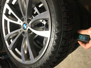 """Bmw x5 x6 rims and winter tires 20"""" for sale"""