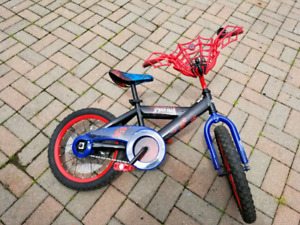 "Kids Spiderman Bike 16"" Tire"