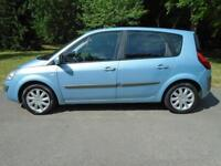 Renault Scenic 1.6 Dynamique. AC. WARRANTY. SH. SIX SPEED.