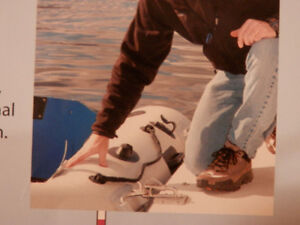 inflatable boat davits for dinghy storage on yacht swim platform North Shore Greater Vancouver Area image 3