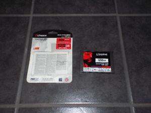 Kingston SSD 120g SSDnow V300 disque disk 2,5 sata 6Gb/s