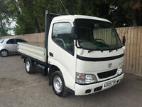 2005 05 Toyota Dyna 300 SWB 2.5 D4-D turbo diesel pick up DROPSIDES P/X
