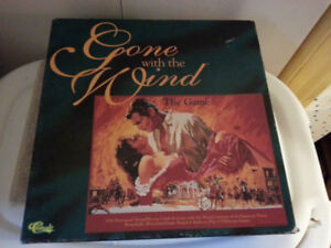 GONE  WITH  THE  WIND   ..   BOARD GAME