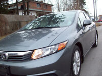2012 Honda Civic EX Sedan,AUTO,LOADED,SUNROOF,CERTEFIED$9975