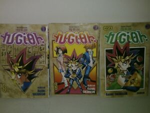 3 livres YU GI OH ! - tomes 1, 2 et 3