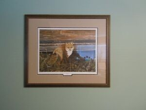 DUCKS UNLIMITED FRAMED, SIGNED, & NUMBERED PRINT-REDUCED!!!