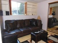 FULLY FURNISHED MODERN ONE BEDROOM BASEMENT SUITE MONTGOMERY