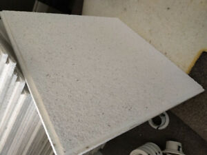 2' x 2' Recessed Acoustic / Fire Resistant Ceiling Tiles