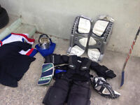 Equipement gardien de but / Goalkeeper full set