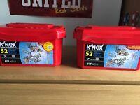 K'NEX boxes