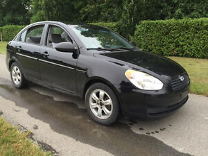 2006 Hyundai Accent Sedan A1 ,Winter rims,tires included 2777.00