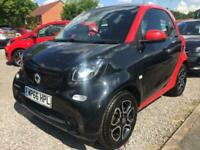 2016 smart fortwo coupe 1.0 Prime 2dr Auto COUPE Petrol Automatic