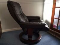 superb Ekornes stressless swivel recliner chair - bargain