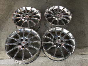 """2003-2007 Cadillac CTS 18"""" Sport Package OEM Wheels & TPMS 5x115"""