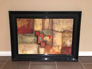 Framed Abstract Wall Art