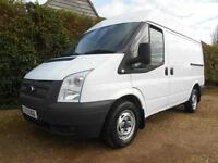 2012 62 FORD TRANSIT 2.2TDCI 100BHP EURO5 SWB MID ROOF 86000 MILES VERY CLEAN