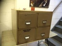 SMALL FILING CABINET - FOUR DRAWER
