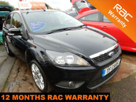 2010 Ford Focus 1.6TDCi 110 (DPF) Zetec - £30 ROAD TAX PER YEAR! PRIVACY GLASS!