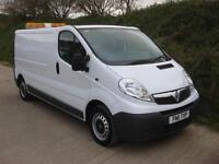 2011 11 Vauxhall Vivaro 2.0CDTi 2900 LWB Van 1 Owner 6 Speed Air Con Sat Nav