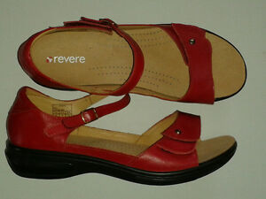 Ladies REVERE Leather Sandals