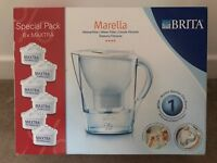 Britta water filter & 6 filters new & boxed