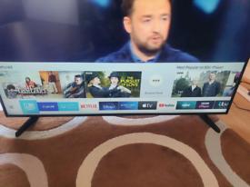 "Samsung 50"" 4k ultra HD smart TV"