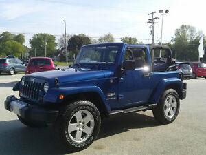 2010 Jeep Wrangler Blue