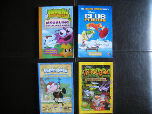 Poptropica! Club Penguin! Moshi Monsters!