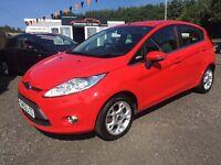 2012 Ford Fiesta Zetec 12 Months Warranty, 2 Years Free MOT