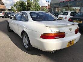 Lexus Soarer 4 LITRE GT AUTO+ (white) 2001