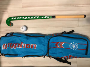 Gryphon field hockey stick for sale (comes with bag and ball)