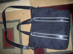 BLACK Authentic Coach purse Windsor Region Ontario image 7