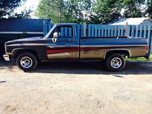 1985 gmc trade for sled!