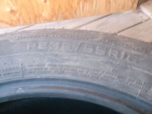4  235/55/18 All season tires
