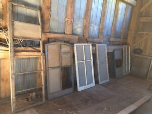 Wooden Antique Windows