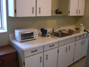$870 INCL.UTIL. > ALLISTON CLEAN, 1 BEDROOM APT. > AVAIL. SEPT 1