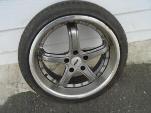 4 mags et pneu