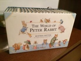 The world of Peter Rabit by Beatrix Potter 23 books