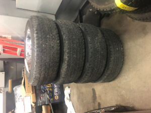 Selling tires for ford truck