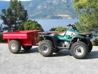POLARIS MAGNUM 325, 4X4, with Trailer